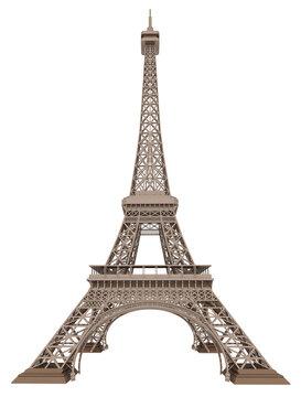 Der Eiffelturm, Freisteller