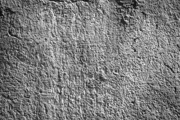 Grunge black and white wall, dark edges