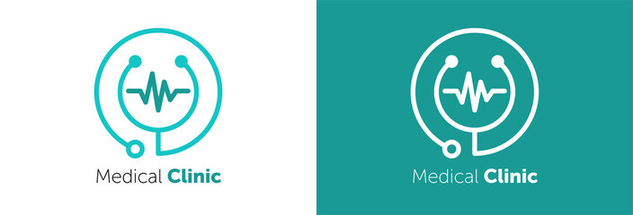 Medical Clinic Logo Design Template Element.. medical logo