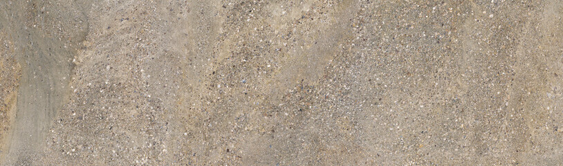 Panoramic concrete wall and sand macro texture background