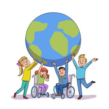 Children disability awareness day and support