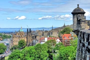 Edinburgh  -  the capital of Scotland