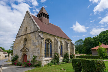 Eglise chapelle village rural commune religion catholique jésus croyant croyance dieu
