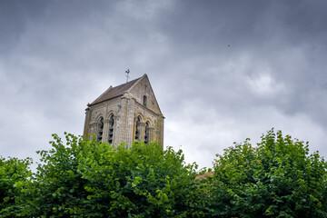 clocher Eglise chapelle village rural commune religion catholique jésus croyant croyance dieu