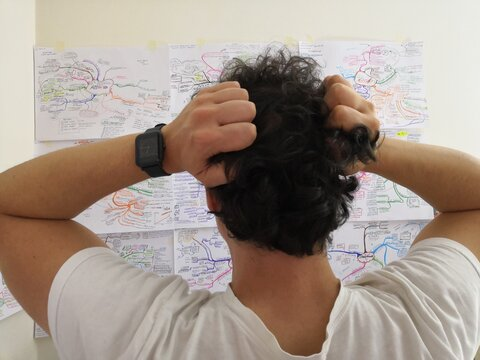 Studying with mindmap