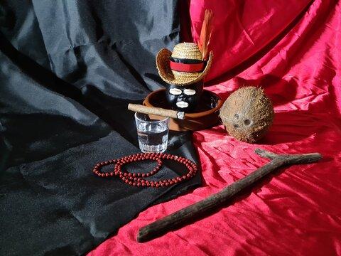 eleggua the Yoruba deity owner of the roads