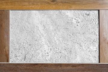 laminate flooring planks frame variations on concrete floor background