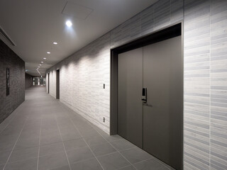 Fototapete - オフィスビルの廊下