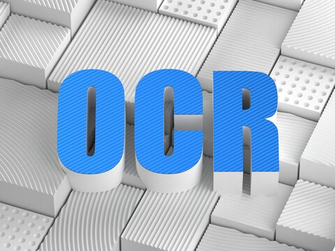 OCR acronym (Optical character recognition)