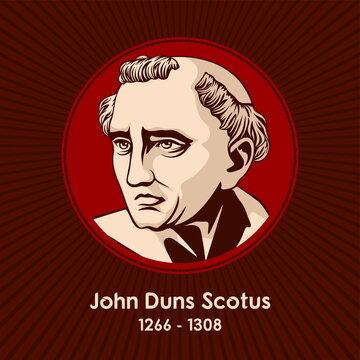 John Duns Scotus (1266 - 1308), was a Scottish Catholic priest and Franciscan friar, university professor, philosopher, and theologian.
