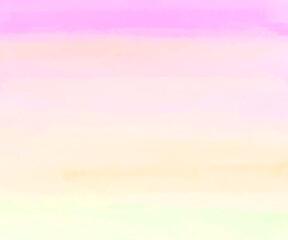 Foto auf Acrylglas Flieder 水彩の空の背景/雲/素材