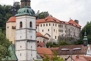 Skofja Loka castle and town in Slovenia