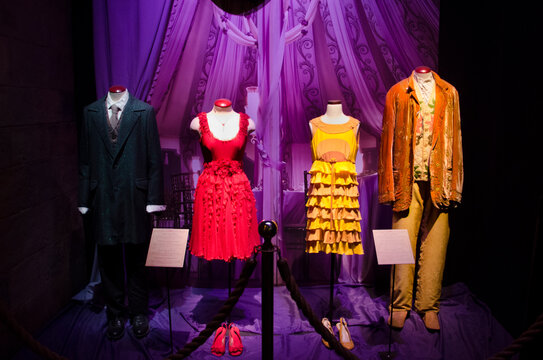 Mannequins Wearing Costumes In Room