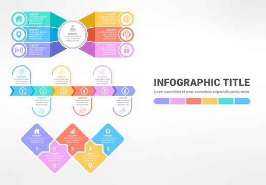 Colorful Infographic Layout