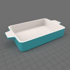 Modern casserole dish