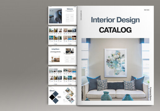 Interior Design Catalog Layout