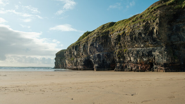 Ballybunion beach ireland