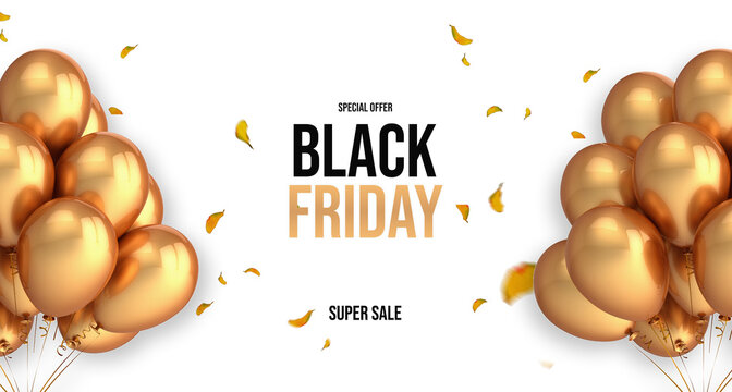 Banner - Black Friday Gold
