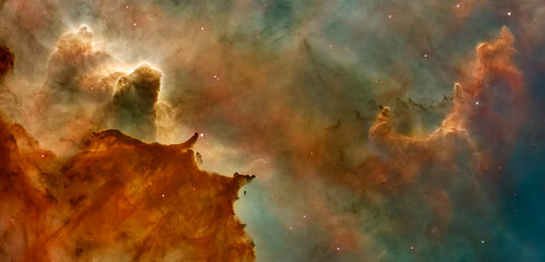 Wall Murals Nasa Hubble image of the Eagle Nebulaas Pillars of the Creation. Elements of this image furnished by NASA.