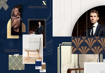 Elegant and Modern Moodboard Set