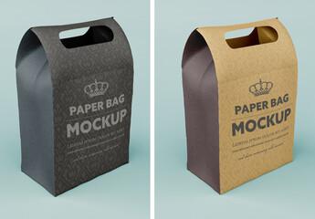 Kraft Bag Mockup