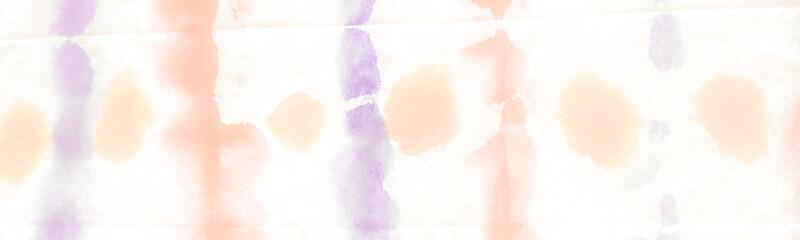Blurred Dirty Art Wallpaper. On White Background. Geometrical Watercolor Splash. Pastel Hand drawn Ikat. Tie Dye Cloth Print. Light Grungy Color Background. Fotobehang