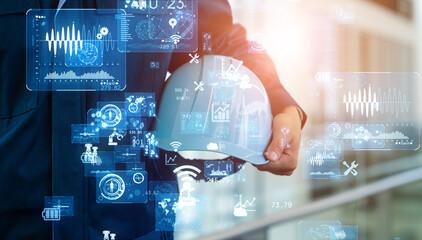 産業とテクノロジー Fototapete