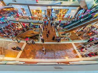 Singapore Marina bay sands Shoppes