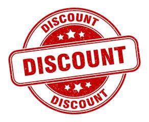 discount stamp. discount round grunge sign. label