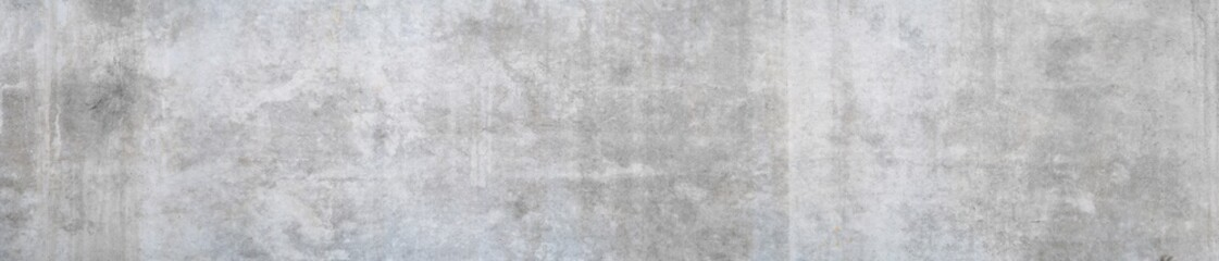 Panorama of an old grungy concrete wall as background or texture
