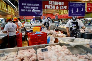 Groceries amid the coronavirus disease (COVID-19) outbreak in Manila
