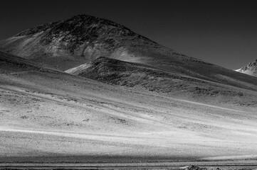 Photo sur Plexiglas Amérique du Sud Scenic View Of Desert Against Clear Sky
