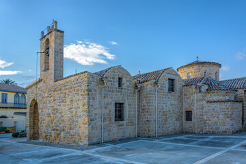 The Panagia Chrysaliniotissa (Our Lady of the Golden Flax) church, which is believed to be the oldest Byzantine church in Nicosia (Lefkosia), Cyprus.