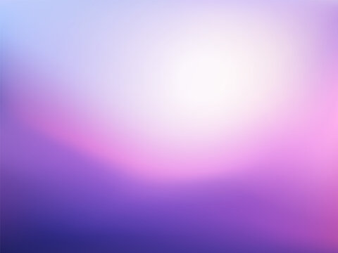 Purple white Gradient background. Beauty blurred violet backdrop. Vector illustration for your graphic design, banner, poster, card