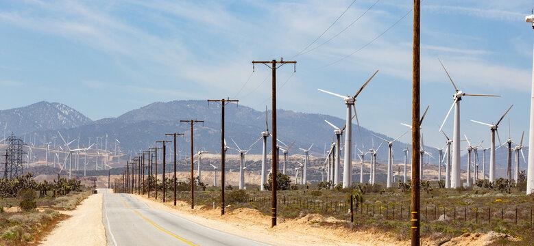 Wind farm california