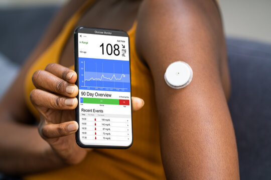 Continuous Glucose Monitor Blood Sugar App