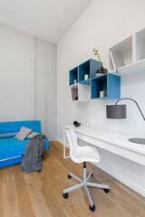 Teenager room with desk