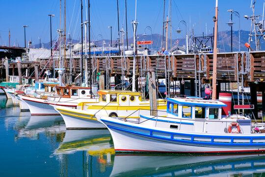 fishing boats docked in san francisco
