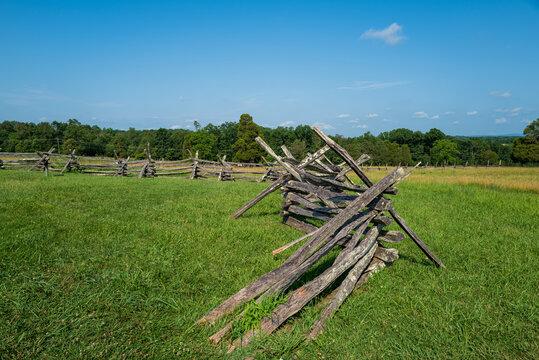 Battlefield Barricades in Manassas VA