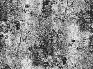Texture de superposition en détresse de béton fissuré