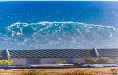 Vague géante, Pointe au Sel, Saint-Leu, île de la Réunion