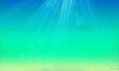 Hintergrund Meer Karibik südsee Reisen Mallorca Urlaub tauchen website Design türkis grün blau Layout leuchten schimmern hell maritim Symbol Sonnenstrahlen Meeresgrund Unterwasser Wasser See Ozean