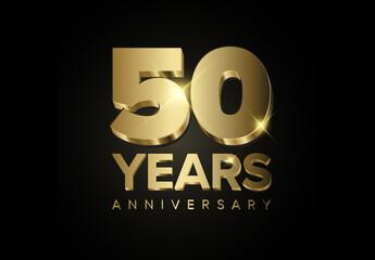 50 Year Anniversary Card Layout