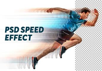 Speed Photo Effect