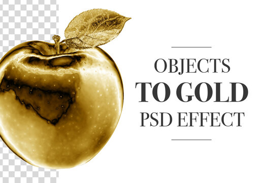 Golden Object Effect