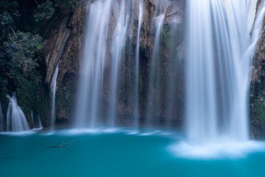 Magical waterfall