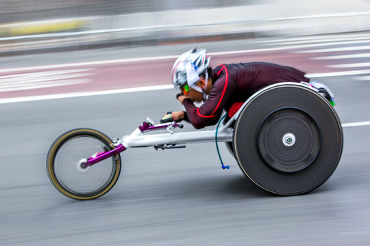 athletic competition wheelchair users