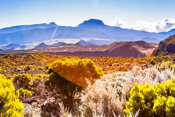 autumn in the mountains, Reunion island