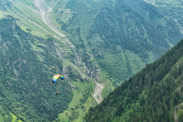 Paragliding Experience in the Valleys of the Swiss Alps