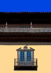 spain, canary islands, tenerife : la orotava, old city